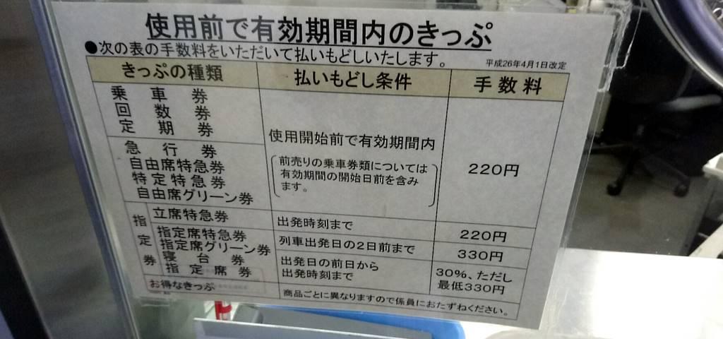 新幹線 チケット キャンセル